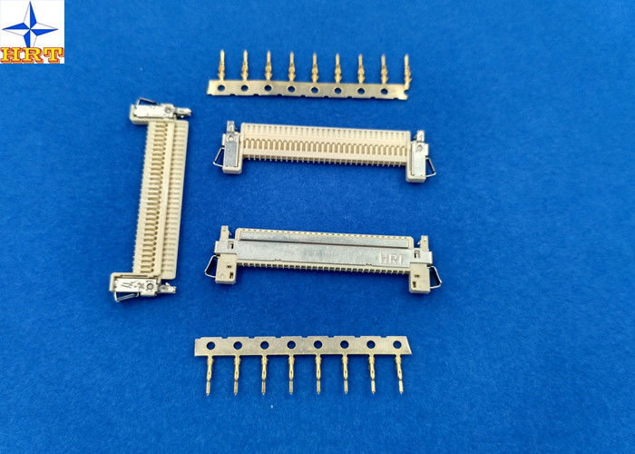 1 Row LVDS Display Connector , Wire To Board Connector 1.0mm Exact Size Equivalent