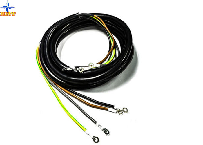 AC Power Custom Cable Assemblies For Machine / Electrical Device